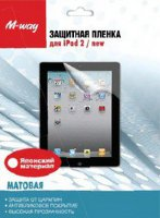 Пленка для ipad 2/new M-way, матовая