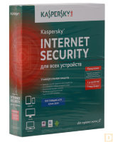 Прогр.обеспечение: Kaspersky Internet Security 2014  2-DeskTop,1 year Box, RusEdition+ Disney