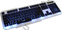 Клавиатура Oklick 740G Gaming Keyboard  USB с подсветкой
